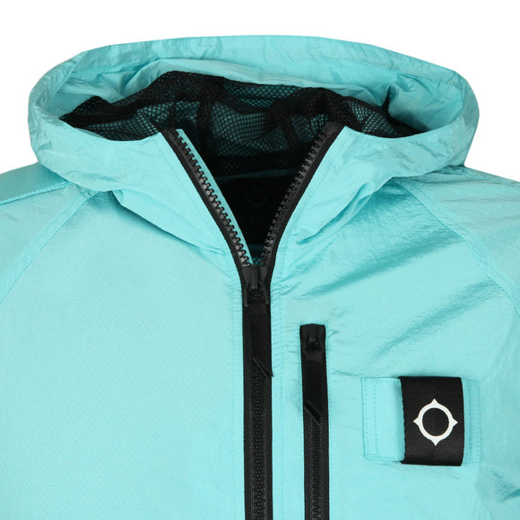 Ma.Strum Mens Blue Pegasus Crystal Nylon Jacket main image
