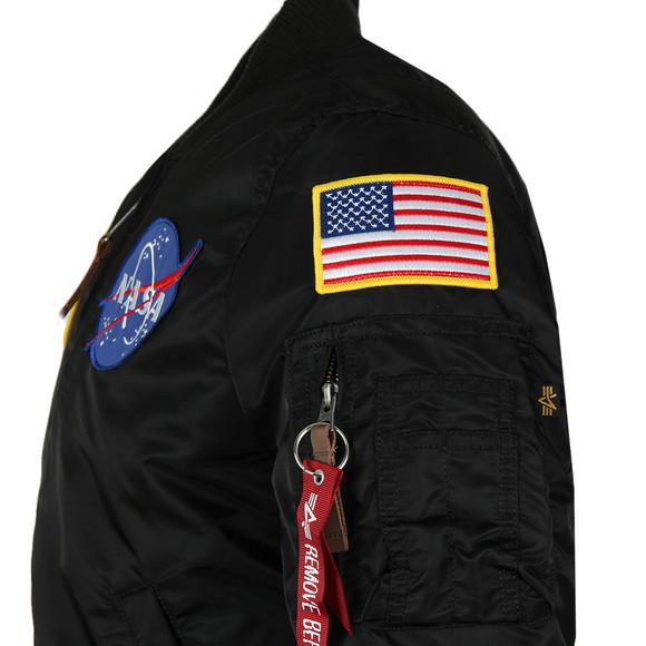 Alpha Industries Mens Black MA1 Nasa Jacket main image