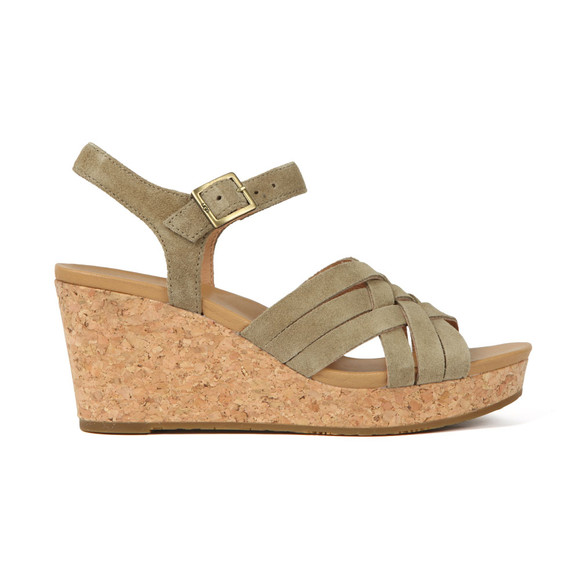 Ugg Womens Green Uma Wedge
