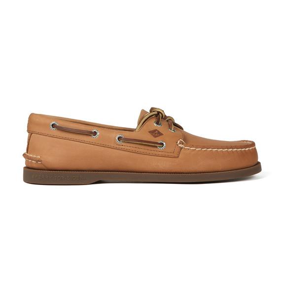 Sperry Mens Beige Authentic Original Boat Shoe