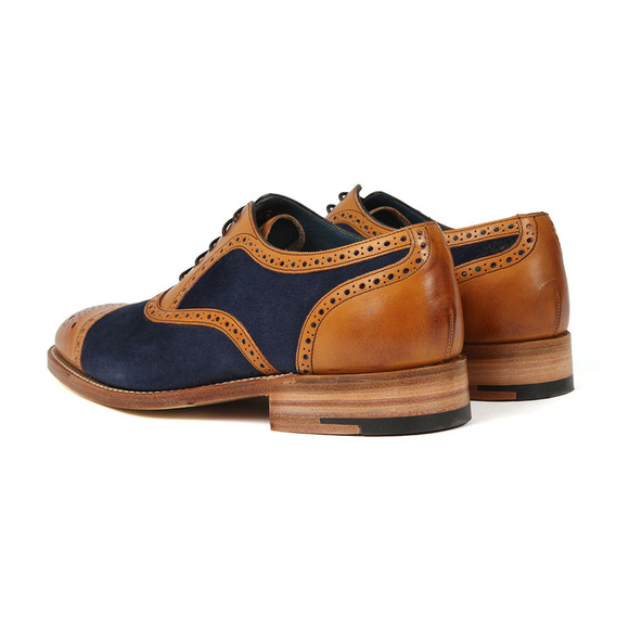 Barker Mens Brown Hursley Shoe main image