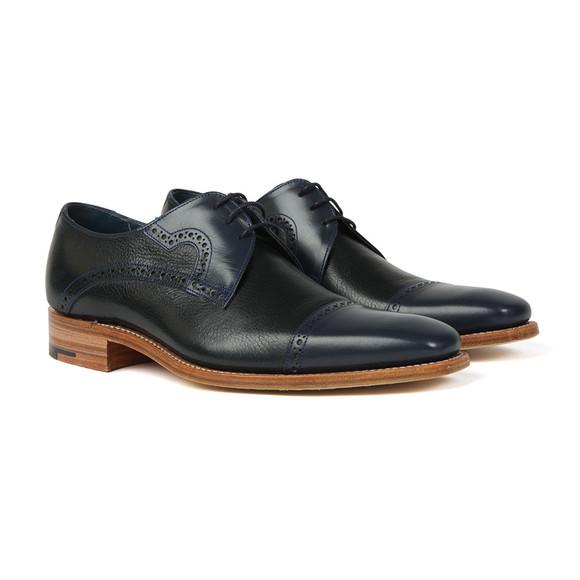 Barker Mens Blue Ashton Shoe