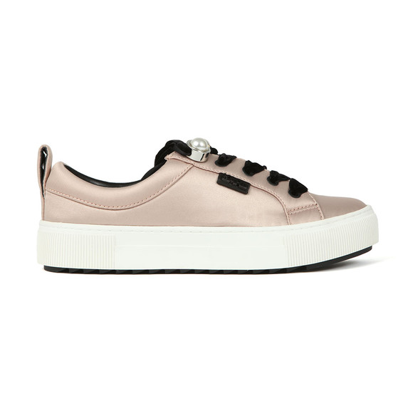 Karl Lagerfeld Womens Pink Luxor Lace Shoe main image