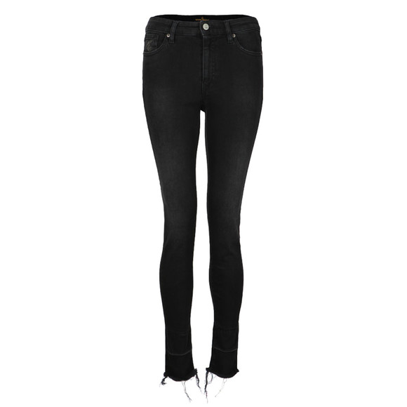 Vivienne Westwood Anglomania Womens Black High Waist Super Skinny Jean