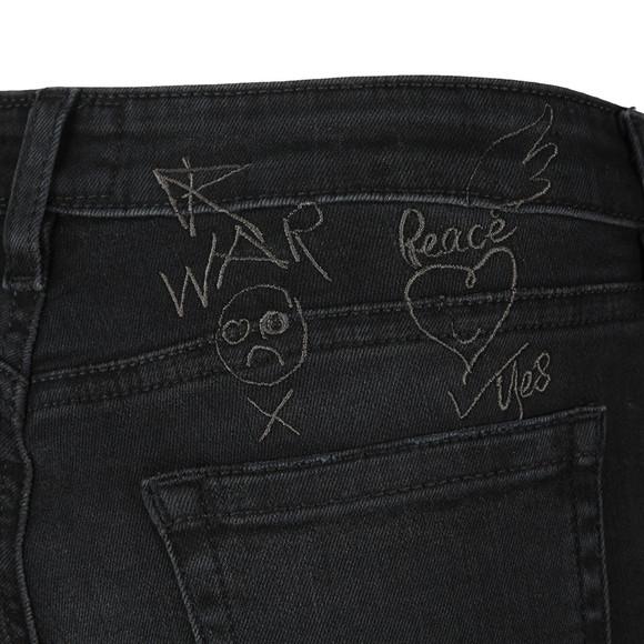 Vivienne Westwood Anglomania Womens Black High Waist Super Skinny Jean main image