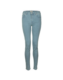 French Connection Womens Blue Rebound Skinny Jean