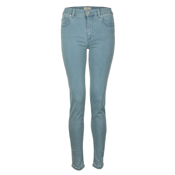 French Connection Womens Blue Rebound Skinny Jean main image