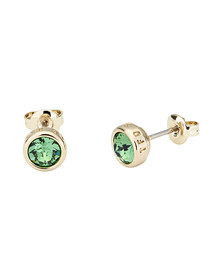 Ted Baker Womens Gold Sinaa Crystal Stud Earrings