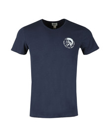 Diesel Mens Blue Randal T Shirt