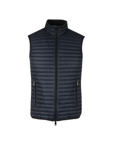 Emporio Armani Mens Blue Down Gilet