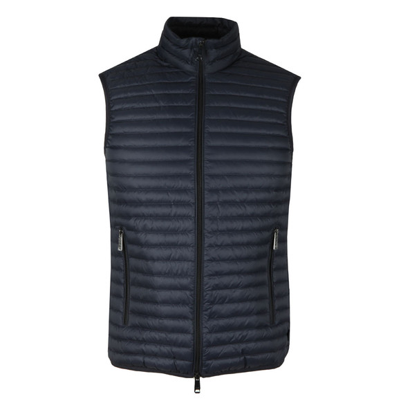 Emporio Armani Mens Blue Down Gilet main image