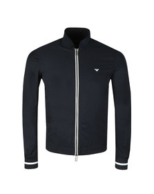Emporio Armani Mens Blue Lightweight Blouson Jacket