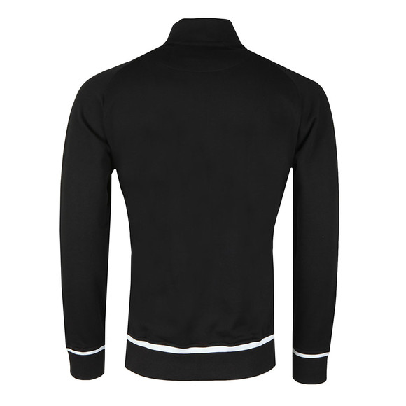 Lyle and Scott Mens Black Full Zip Funnel Neck Sweat main image