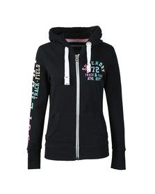 Superdry Womens Blue Track & Field Lite ZipHood