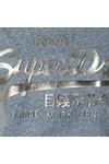 Superdry Womens Blue Vintage Logo Embossed Foil Tee