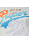 Superdry Womens Off-white Paradise Stacker Ringer Tee