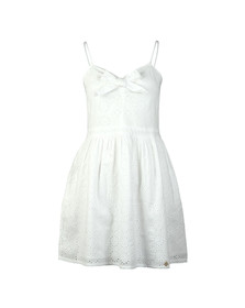 Superdry Womens White Alice Knot Dress