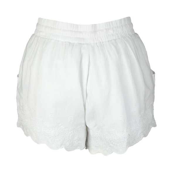 Superdry Womens White Jenna Embroidered Edge Short main image