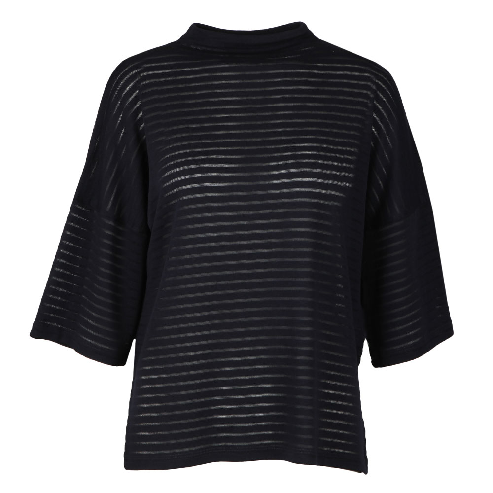 Beka Rib Jersey High Neck Top main image