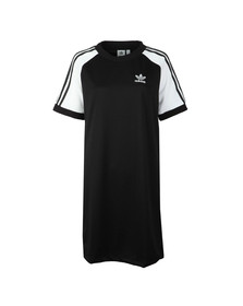 Adidas Originals Womens Black Raglan Dress