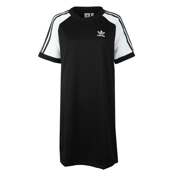 adidas Originals Womens Black Raglan Dress main image