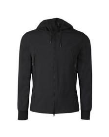 CP Company Mens Blue Goggle Soft Shell Jacket