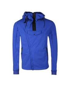 CP Company Mens Blue Pro Tek Goggle Jacket