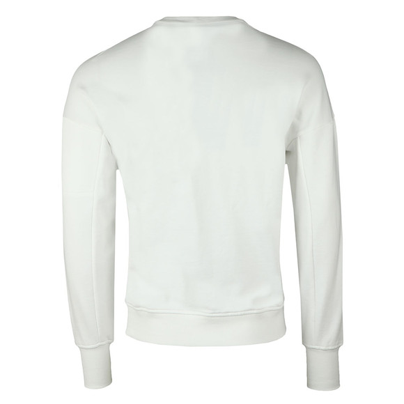 C.P. Company Mens Off-White Zip Detail Sweatshirt main image