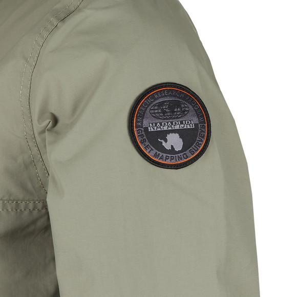 Napapijri Mens Green Rainforest Summer Jacket main image