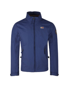 Napapijri Mens Blue Shelter Jacket