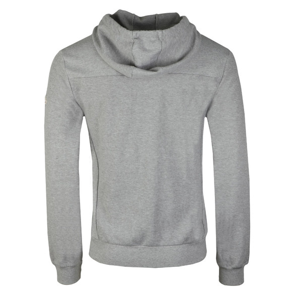 Pyrenex Mens Grey Herve Full Zip Hoody main image