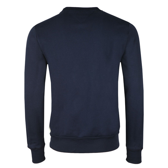 Tommy Hilfiger Mens Blue Logo Crew Sweat main image