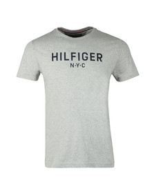 Tommy Hilfiger Mens Grey S/S Graphic Tee