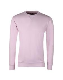 Edwin Mens Pink Classic Crew Sweatshirt