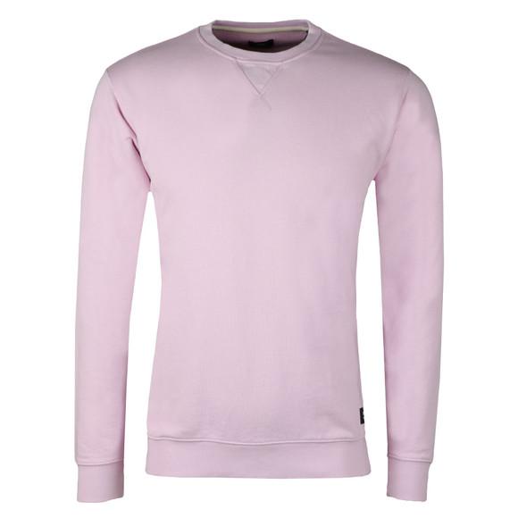 Edwin Mens Pink Classic Crew Sweatshirt main image