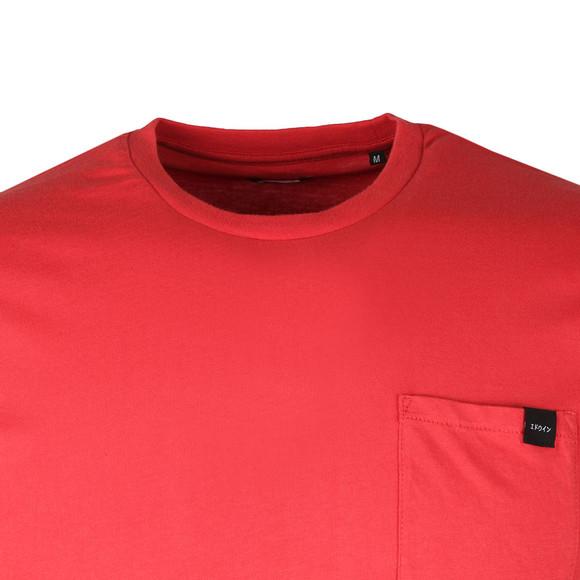 Edwin Mens Red Pocket T Shirt main image