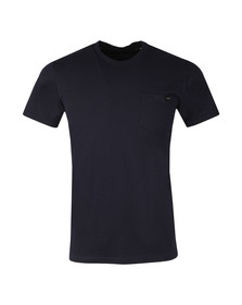 Edwin Mens Blue Pocket T Shirt