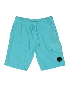 CP Company Mens Blue Viewfinder Sweat Short