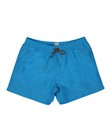 PS Paul Smith Mens Blue Classic Plain Swim Shorts