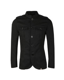 Pretty Green Mens Black Langford Jacket