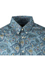 Slim Fit Paisley Print Shirt additional image