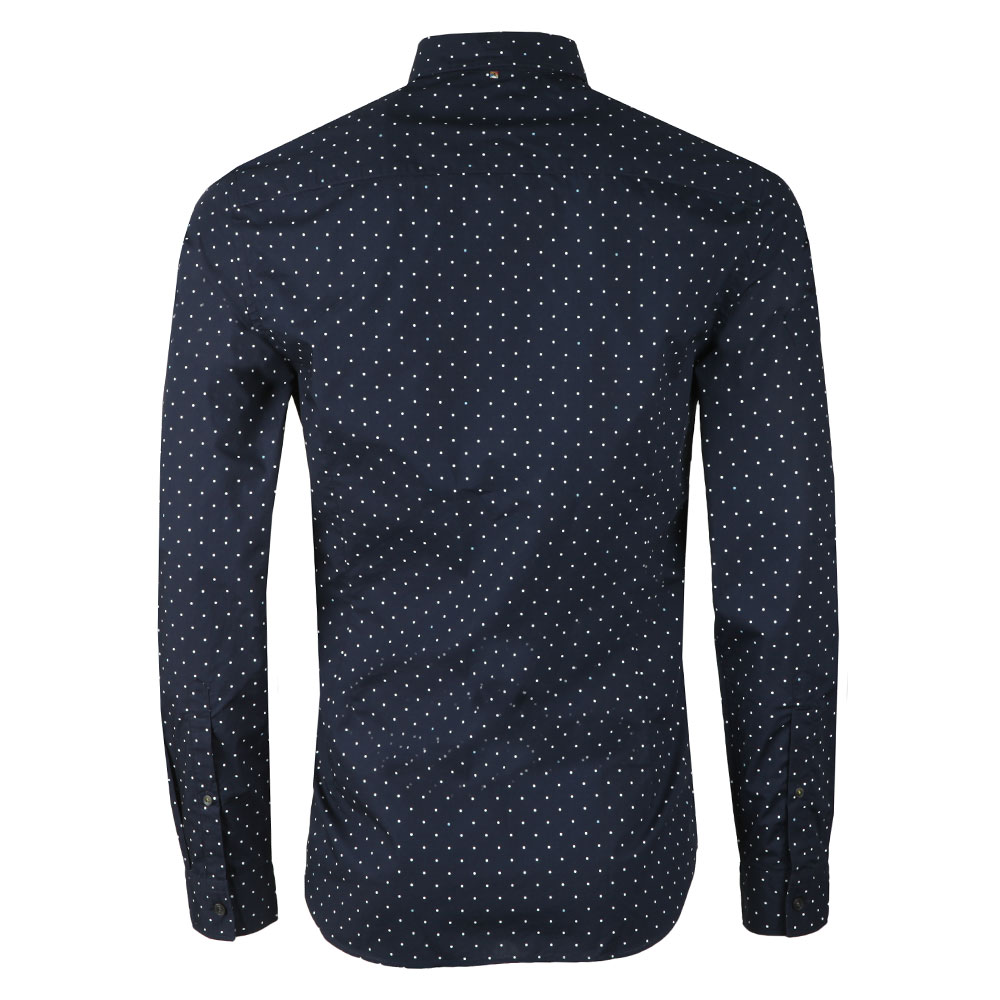 Slim Fit Polka Dot Shirt main image