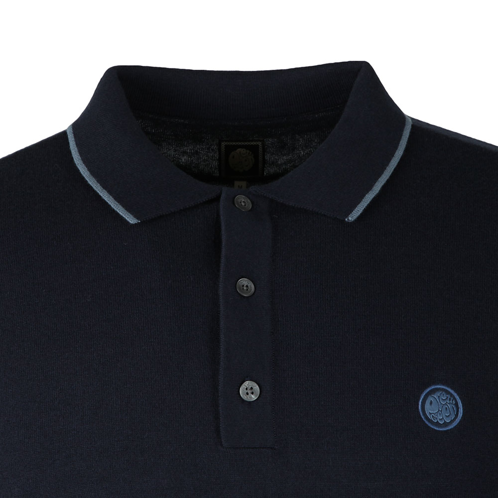 L/S Tipped Knitted Polo main image