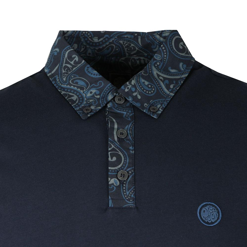 Paisley Print Collar Polo main image