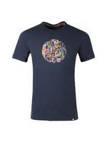 Paisley Print Logo T-Shirt