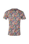 Pretty Green Mens Multicoloured Paisley Print T-Shirt