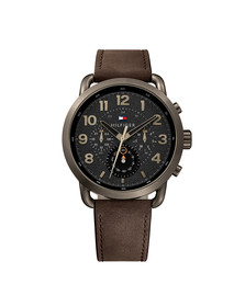 Tommy Hilfiger Mens Brown Briggs Watch