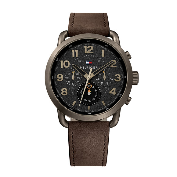 Tommy Hilfiger Mens Brown Briggs Watch main image