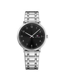 Tommy Hilfiger Mens Silver 1791336 Watch