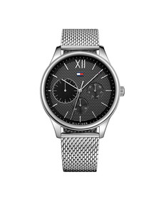 Tommy Hilfiger Mens Silver 1791421 Watch